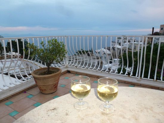 Hotel Villa delle Palme: Another view from our terrace