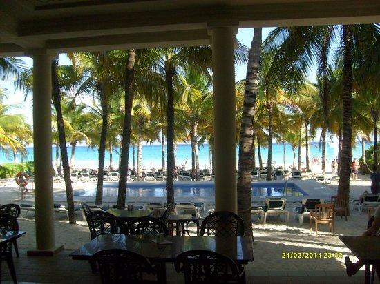 Hotel Riu Lupita : The Beach club