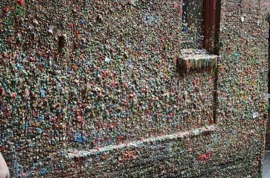 The Gum Wall : Gum Wall
