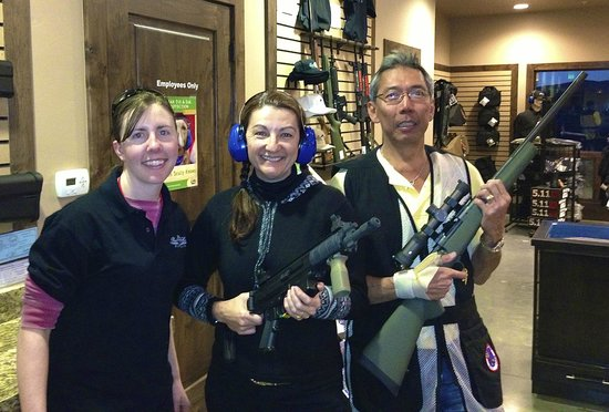 Park City Gun Club: Choose your rental weapon or BYO (bring your own.)