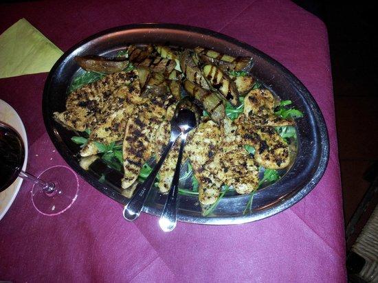 Taverna Dei Servi : Pollo alla piastra