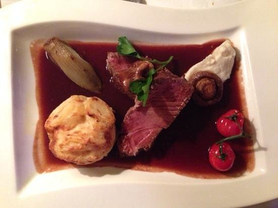 Park Restaurant: best beef fillet