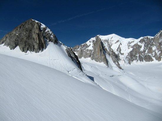 Aiguille du Midi: фуникулер
