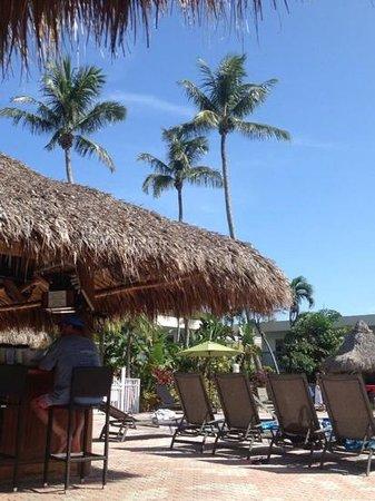 Holiday Inn Key Largo: tikki bar