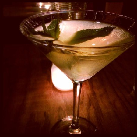 Anyway Cafe : Honey Ginger Vodka Martini