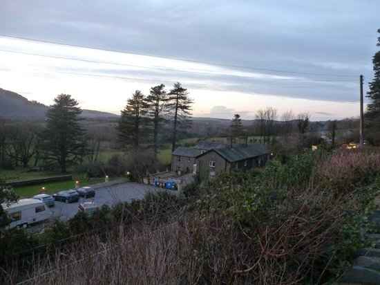Ravenstone Lodge Hotel: view from above