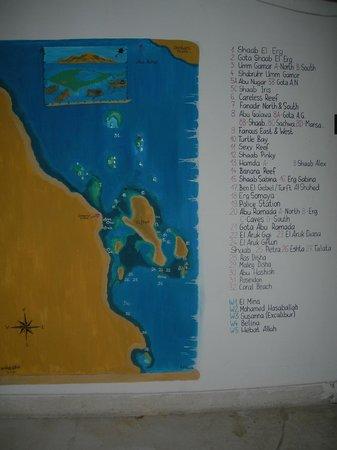 Hilton Hurghada Plaza: Centre de plongée : les sorties en bateau :)