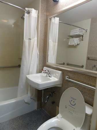 Ramada Long Island City: Bathroom