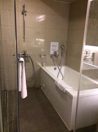 Vendome Hotel Taipei: Shower & Bathtub