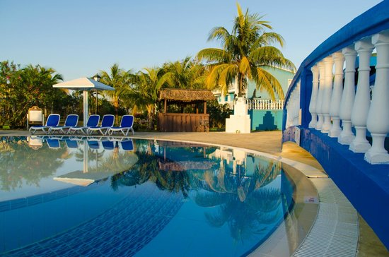 Hotel Playa Coco: Pool area