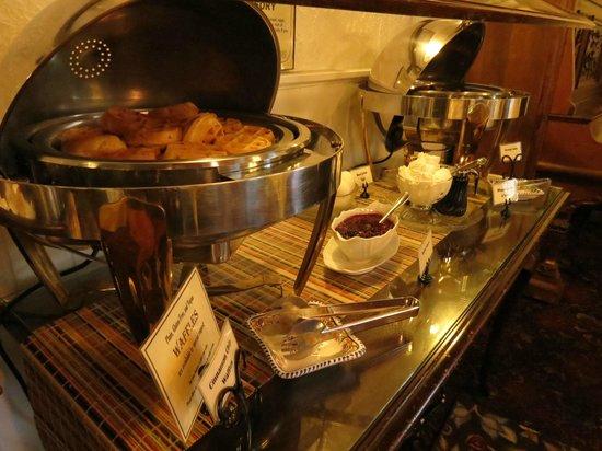 St. Francis Inn Bed and Breakfast : Breakfast