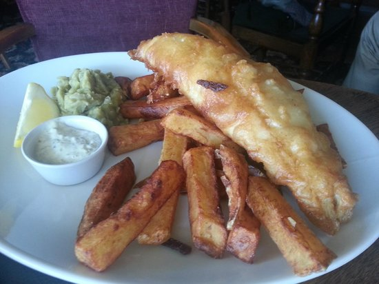 The Sawley Arms: Fish n chips