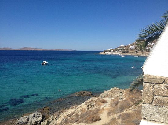 Mykonos Grand Hotel & Resort: View from the terrace