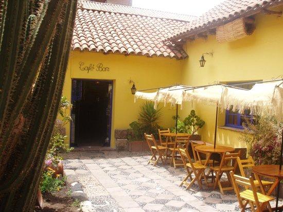 Cafe Bar de la Casa del Corregidor: Courtyard