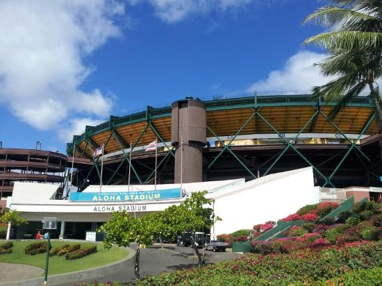 Photo of Tourist Attraction Aloha Stadium at 99-500 Salt Lake Blvd, Honolulu, HI 96701, United States