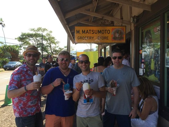 Matsumoto Shave Ice: crowd pleaser!