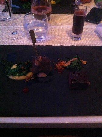 A21 Dining: Одно из блюд