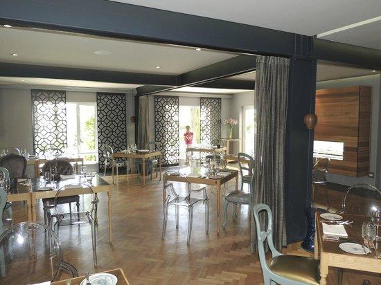 Makaron : L'intérieur du restaurant très design