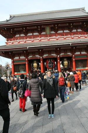 Asakusa Shrine : tempel