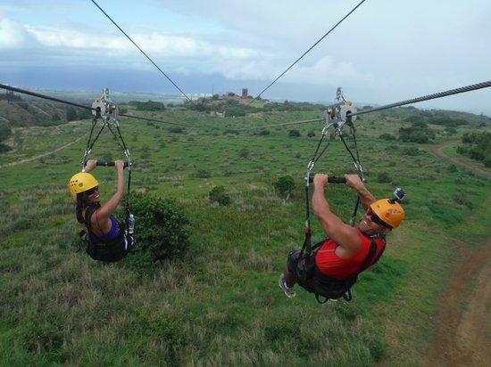 Kapalua Ziplines : Zip Lining Fun!