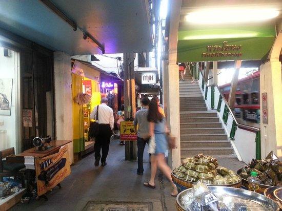 The Mix Bangkok: The Mix: Location next to skytrain