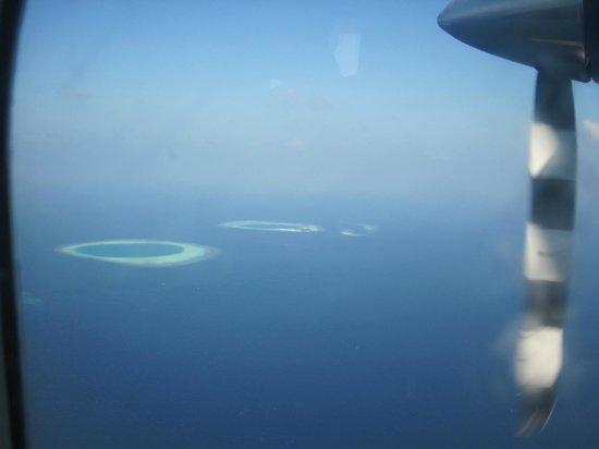VOI Maayafushi Resort: idrovolante
