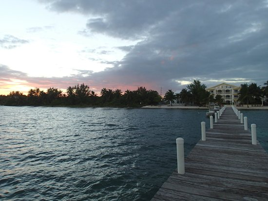 Pelican Reef Villas Resort: From the end of the pier