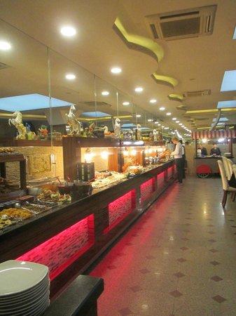 Hotel Sapphire: Breakfast buffet