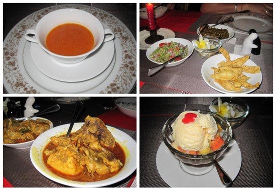 Villa 49: Dinner