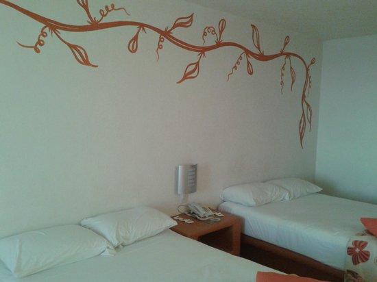 Hotelito Escondido Manzanillo: habitacion doble