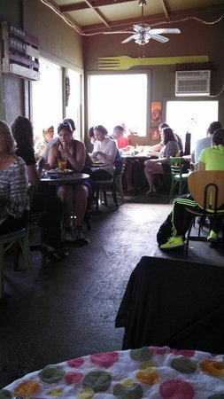 Cafe C : Patio dining
