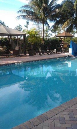 Hampton Inn & Suites Wellington : nice pool area