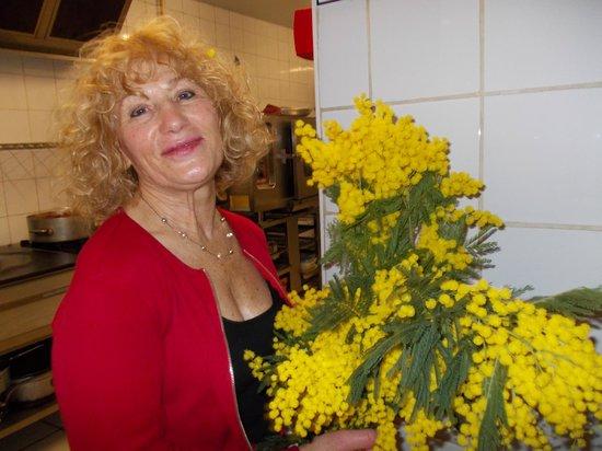 Hotel Andrea: Andréa aime les mimosas