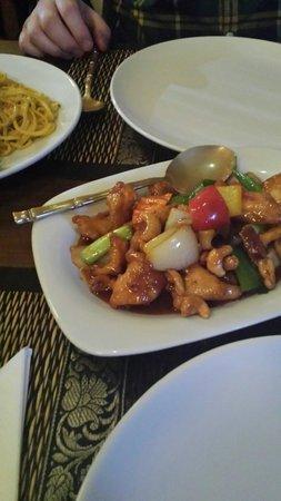 The Old Siam: Chilli chicken