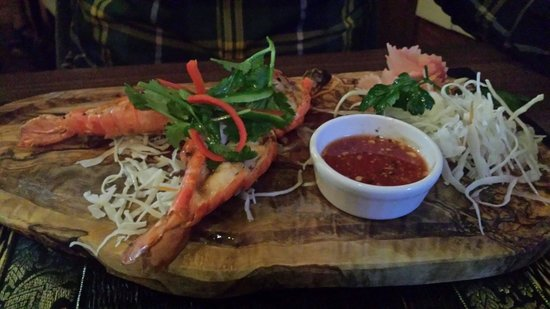 The Old Siam: King prawns
