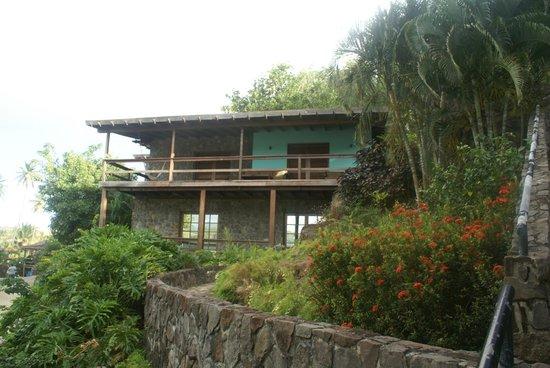 White Sands Cottages: Our wonderful verandah