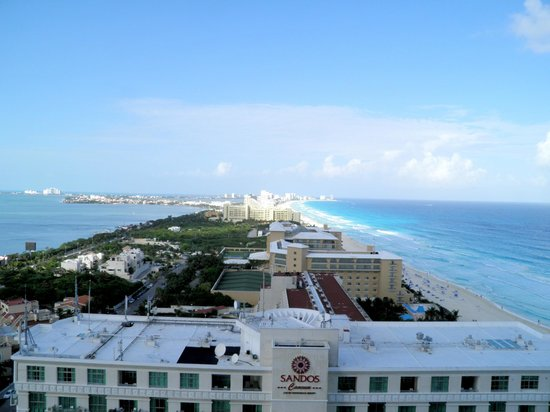 Secrets The Vine Cancun: view from balcony