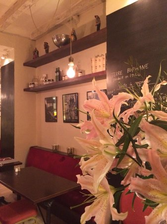 Caffé Bianco : お花が素敵♡