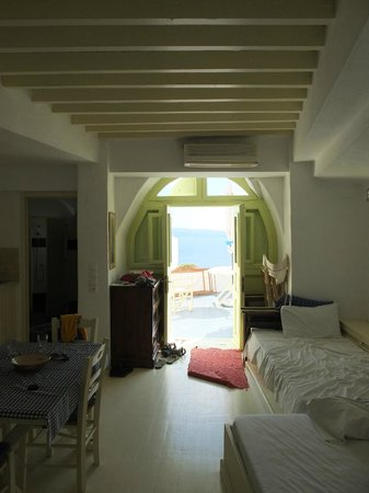 Old Oia Houses: View from the room
