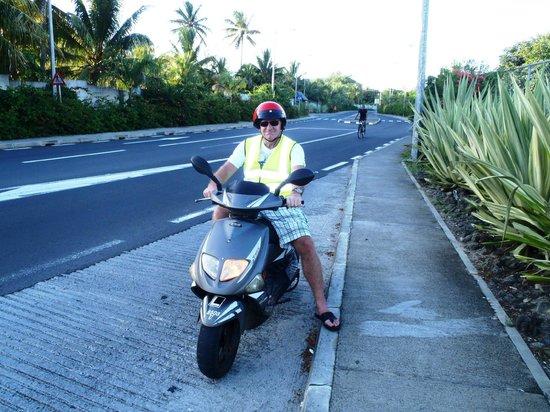 Recif Attitude: renting scooter - no problem