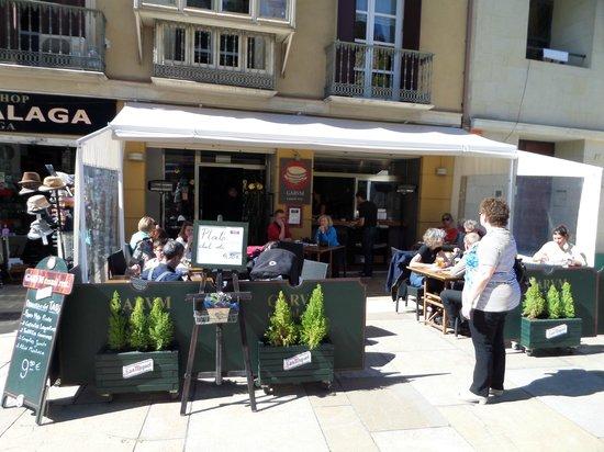 Garum: Terrasse du restaurant