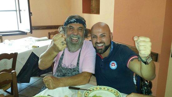 """Ristorante """"Do' Priuri"""" : Fantastico pranzo e mille sorrisi.... Grazie Mimmo!"""