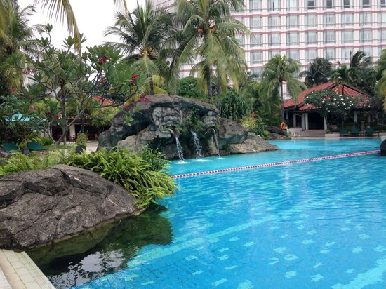 Grand Hyatt Jakarta : Pool at Hyatt Grand