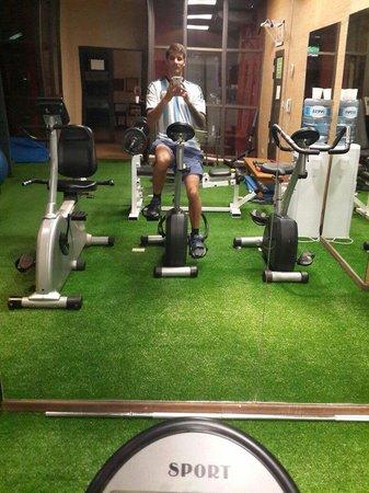 Amerian Portal del Iguazu: Buen gym!!!!