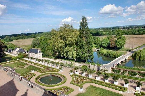 Château d'Ussé: Сад замка Юссе
