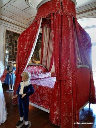 Château d'Ussé: Королевская кровать