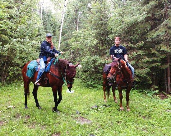 Gunflint Lodge: Horseback Riding