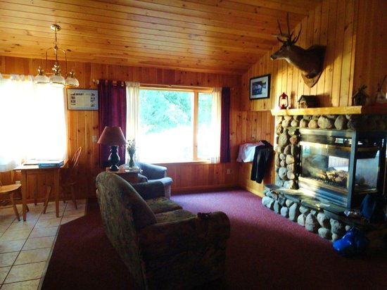 Gunflint Lodge & Outfitters : Cabin Living Room - Romantic Cottage #4
