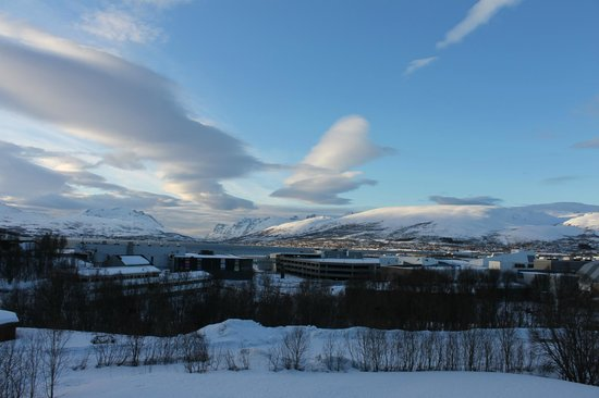 Scandic Tromso: Spectacular view from the room