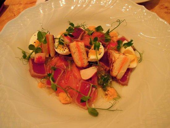 Messa: sashimi shakshuka